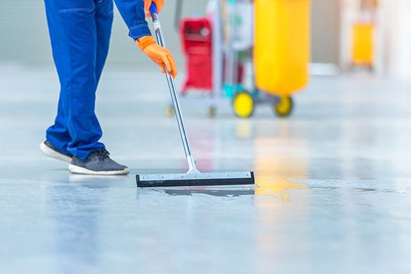 Gebäudereinigung Fußboden